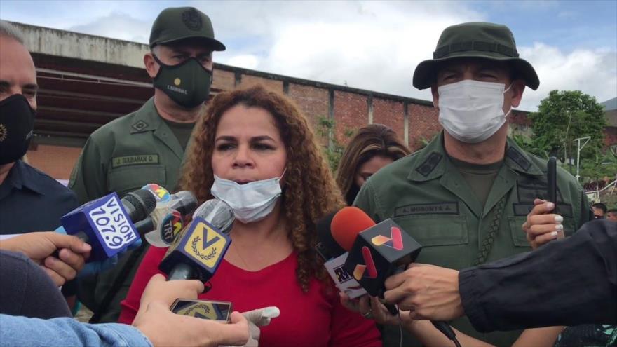 Vídeo: Ministra venezolana de Prisiones señala la celda para Guaidó