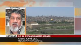 Leal: resistencia frena ambiciones israelíes de anexar Cisjordania
