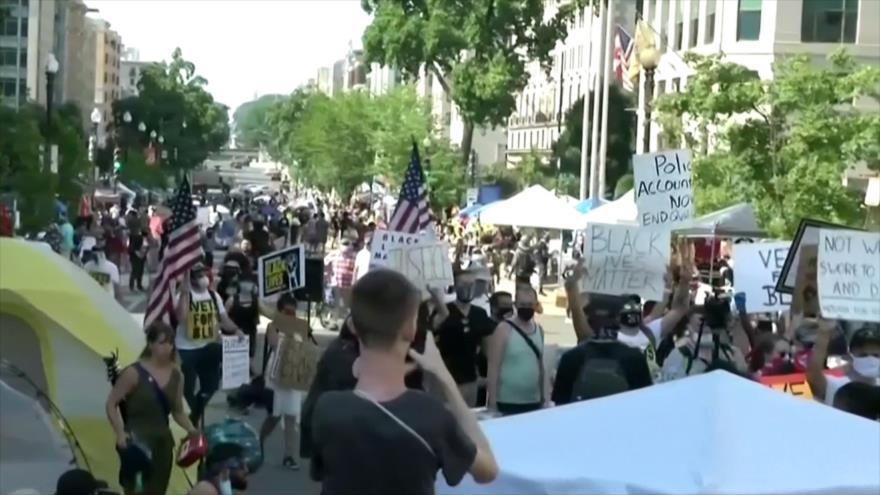 EEUU celebra su Día de la Independencia en medio de protestas