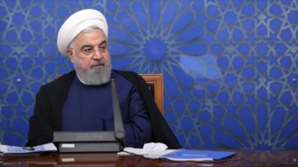 """Rohani: Economía de Irán """"está bajo control"""" pese a sanciones de EEUU"""