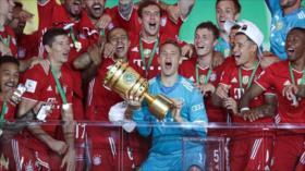 Bayern Múnich conquista su vigésima Copa de Alemania
