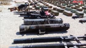 Fotos: Siria aborta intento de contrabando de armas a terroristas