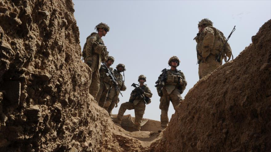 Tropas estadounidenses desplegadas en las afueras de la aldea de Kandalay, en la provincia de Kandahar, sur de Afganistán. (Foto: AFP)