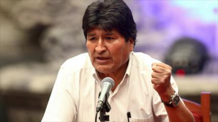 """Morales denuncia """"guerra jurídica"""" de derecha para las elecciones"""