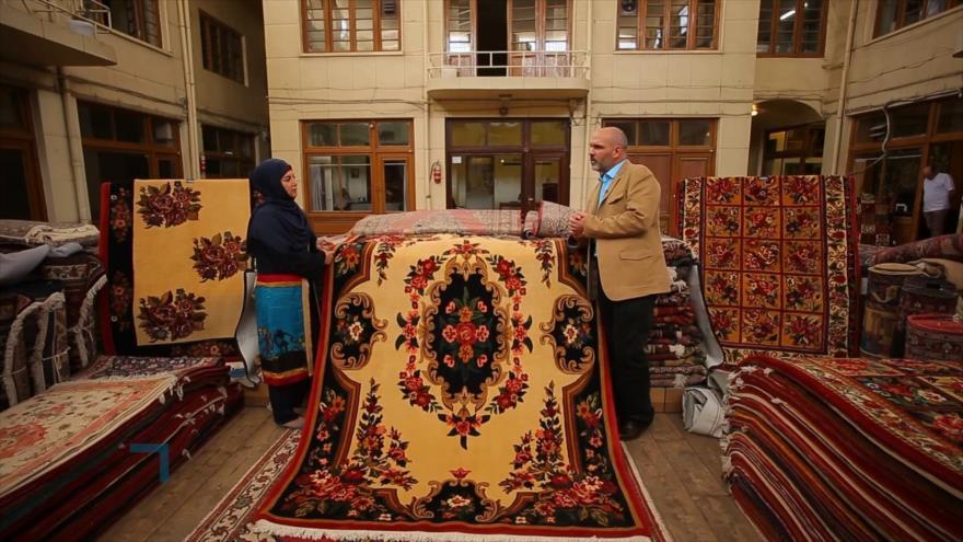Más allá de la imagen: La manifestación de la cultura iraní en la alfombra I