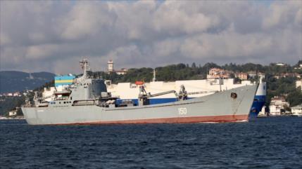 Campaña rusa en Siria continúa: envía nuevo buque de guerra (Fotos)
