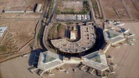 Un cohete Katyusha impacta cerca de una base de EEUU en Bagdad