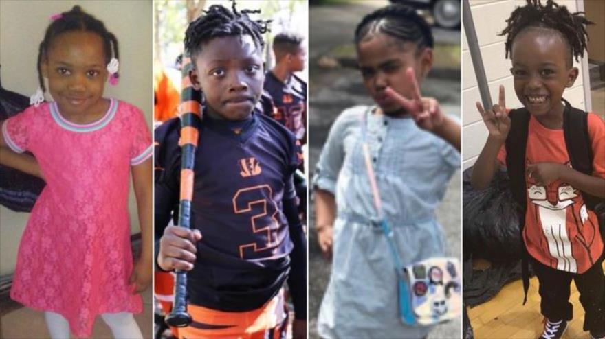 Niños, víctimas de la violencia armada en EE.UU.