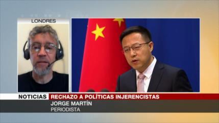 Martín: Envío de buques de EEUU a aguas chinas es una provocación