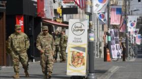 Indignación de surcoreanos por la fiesta de los militares de EEUU