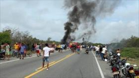 Colombia: al menos 7 muertos al incendiarse un camión cisterna