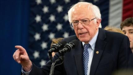 Sanders: Mentiras patológicas de Trump sobre COVID-19 nunca paran