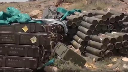 Vídeo: Yemen descubre armas de EEUU en manos saudíes