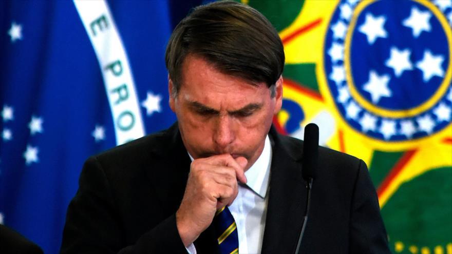 Bolsonaro da positivo en el nuevo coronavirus