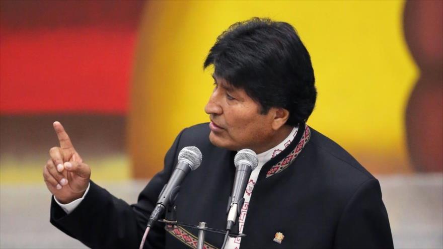 El depuesto presidente de Bolivia, Evo Morales.