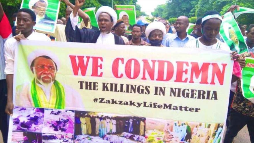 Partidarios de Al-Zakzaky protestan en Nigeria y piden su libertad