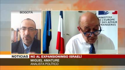 Amature: Aventurismo EEUU-Israel contra palestinos está empañado