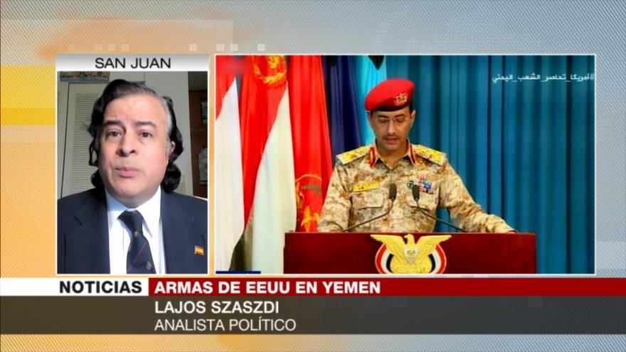 Lajos Szaszdi: EEUU apoya a ciertos grupos terroristas en Yemen