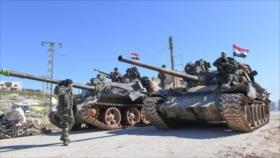 Ejército sirio desmantela célula terrorista apoyada por EEUU