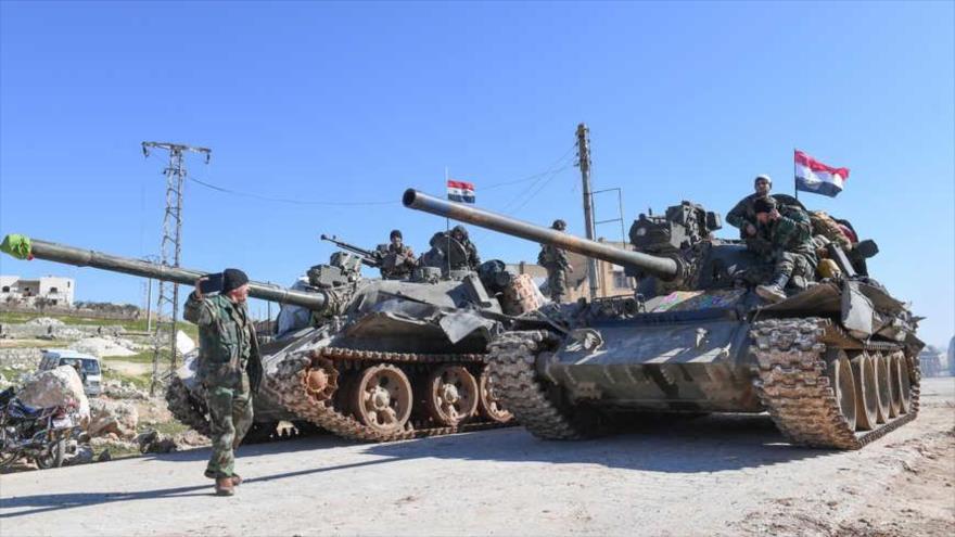 Ejército sirio desmantela célula terrorista apoyada por EEUU | HISPANTV