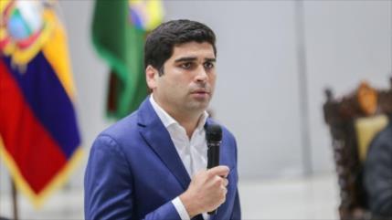 Dimite el tercer vicepresidente del Gobierno de Lenín Moreno