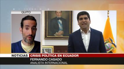 Casado: Ecuador lanza una campaña de persecución contra Correísmo