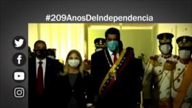 Etiquetaje: Apoyo y solidaridad con Venezuela, en su Día de la Independencia