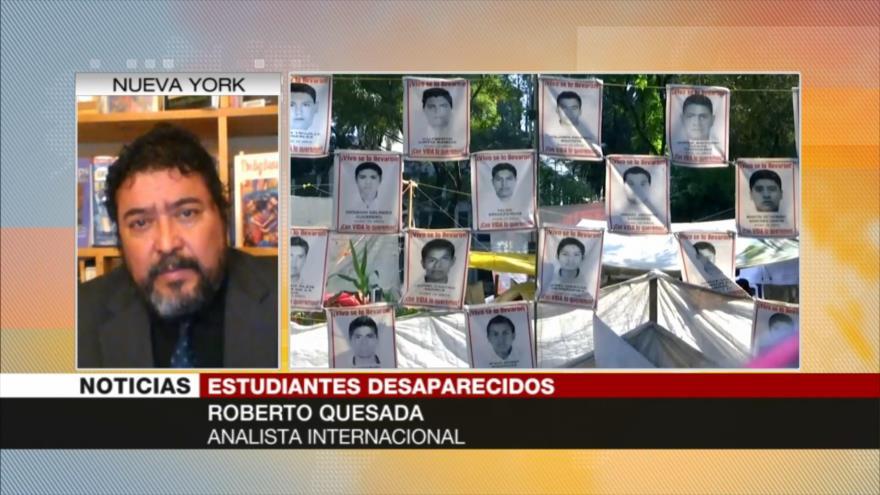 Quesada: El caso de Ayotzinapa fue una cortina de humo | HISPANTV