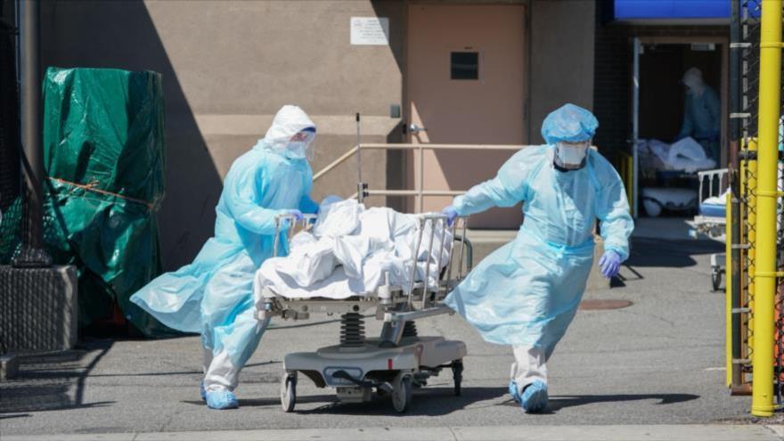 EEUU marca un nuevo récord diario de contagios por COVID-19 | HISPANTV