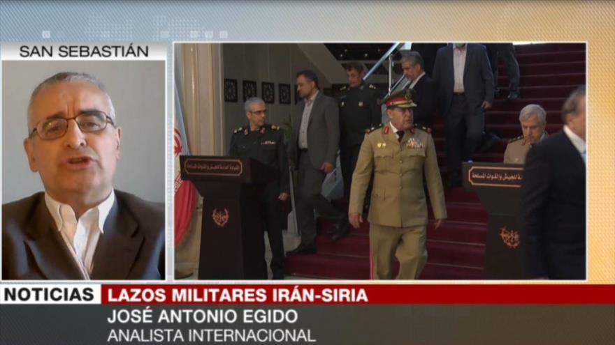 Egido: Guerra ha fortalecido capacidad defensiva de Irán y Siria