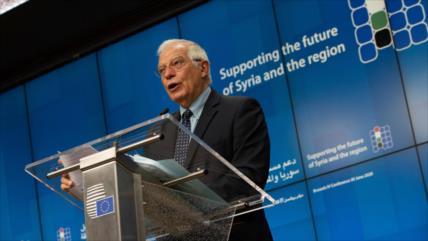 """Borrell advierte a Israel de """"riesgos"""" de anexar Cisjordania"""