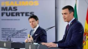 """Sánchez: España, """"perturbada"""" por escándalo en torno al rey emérito"""