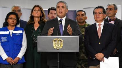 Iván Duque rechaza propuesta de tregua del ELN por la pandemia