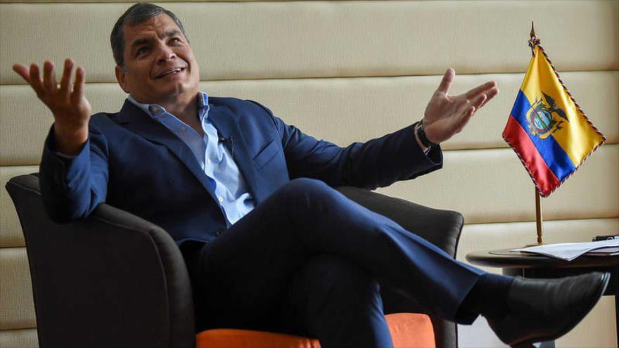 Correísmo lanza frente progresista UNES de cara a elecciones 2021