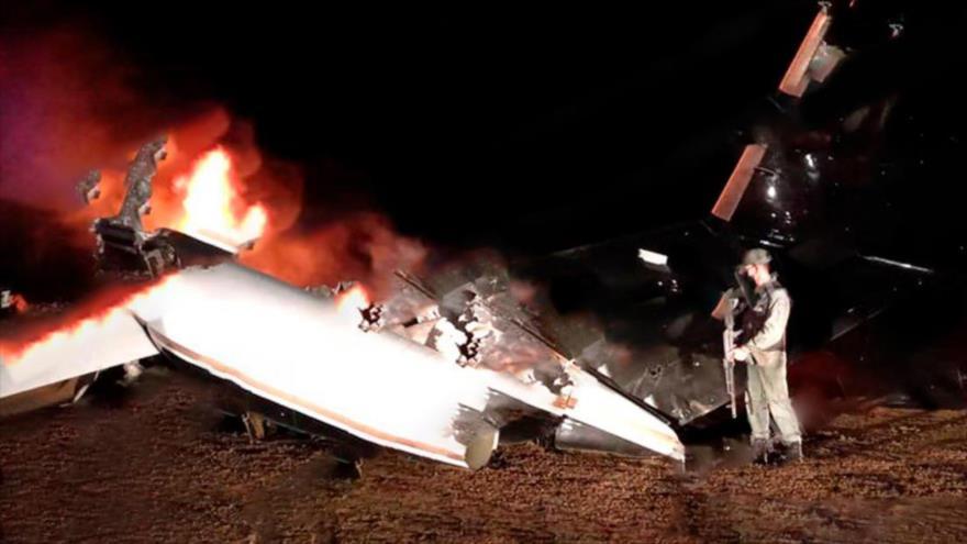 Defensa Aeroespacial de Venezuela derriba narconave estadounidense | HISPANTV