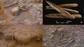 Fotos: Hallan figuras humanas neolíticas nunca vistas en Jordania