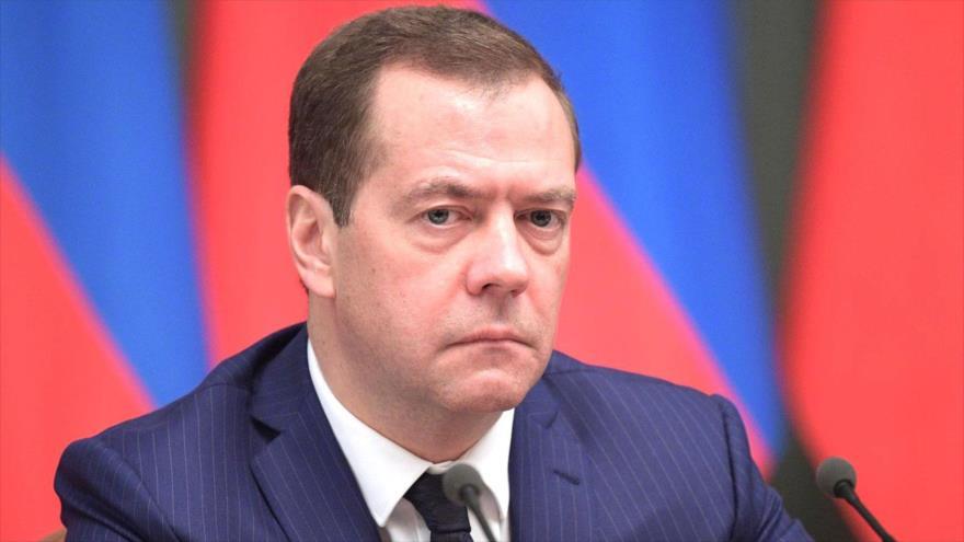 El primer ministro y también vicepresidente del Consejo de Seguridad de Rusia, Dmitri Medvedev.