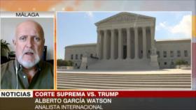 García: Trump tiene todas las cartas en contra de cara a elecciones