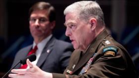 Jefe del Ejército de EEUU: Trump no hace todo contra Rusia-Talibán