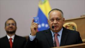 Diosdado Cabello anuncia que contrajo el coronavirus