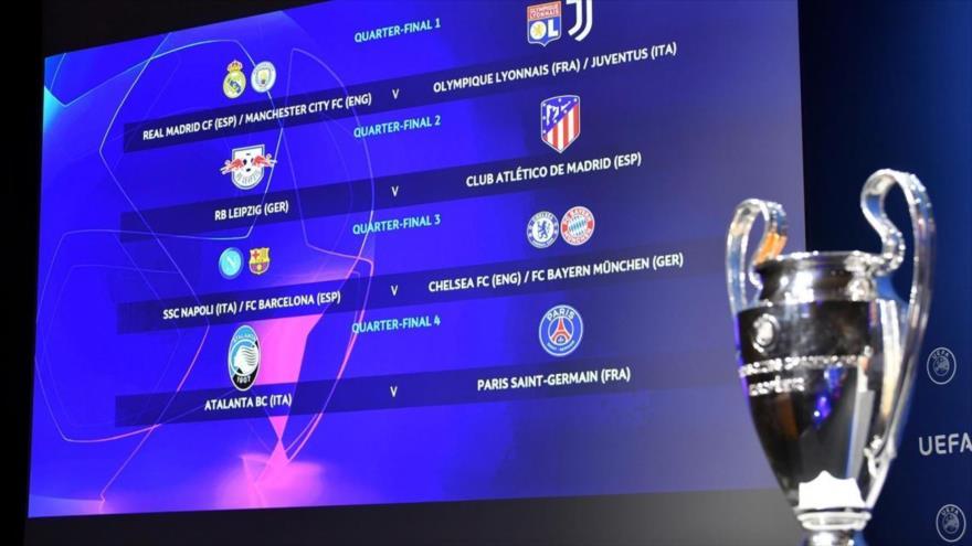 El resultado del sorteo para cuadros finales Champions League 2019-2020.