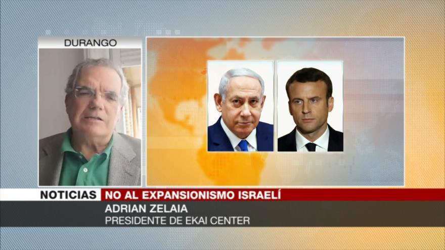 Zelaia: Israel está desesperado con su absurdo plan de anexión