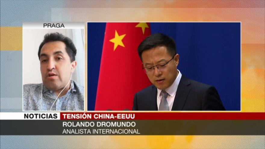 Dromundo: EEUU alega el tema de DDHH para mostrar su hegemonía a China
