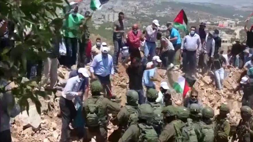 Siguen las protestas contra plan israelí de anexión de Cisjordania