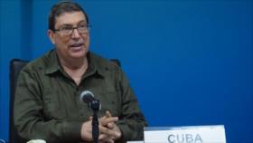 """Canciller cubano carga contra """"oportunismo electoral"""" de Trump"""