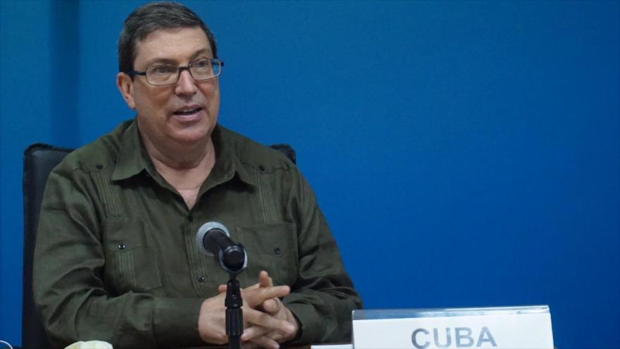 El canciller de Cuba, Bruno Rodríguez Parrilla.