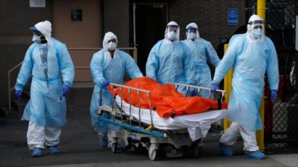 EEUU bate récord diario de contagiados por pandemia del coronavirus