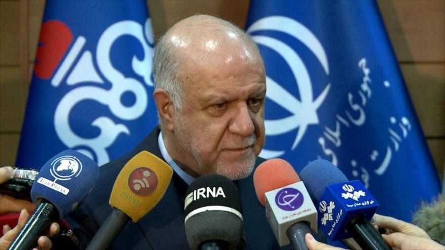 El ministro de Petróleo de Irán, Biyan Namdar Zanganeh.