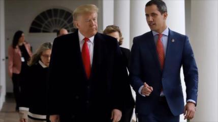 Trump admite haber apostado mal: Guaidó está perdiendo cierto poder