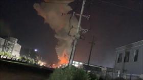 Vídeo: Sucede una fuerte explosión en una fábrica en China